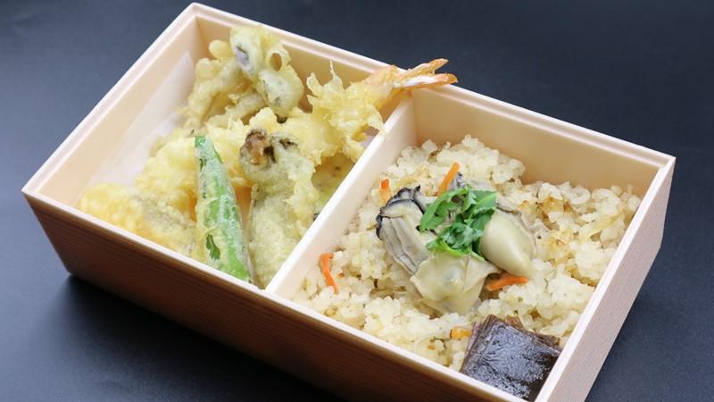 銀座かなわ天ぷら弁当